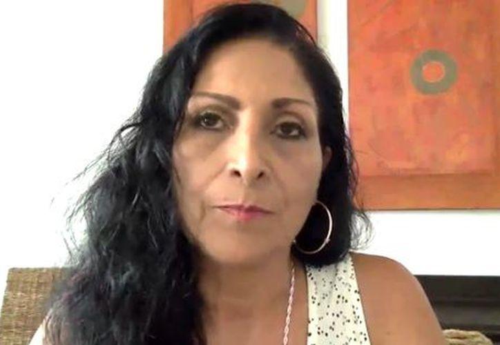 Mariana Huerta es conocida por dar voz a personajes como Bart Simpson, entre muchos otros. (Captura de pantalla/ Facebook)