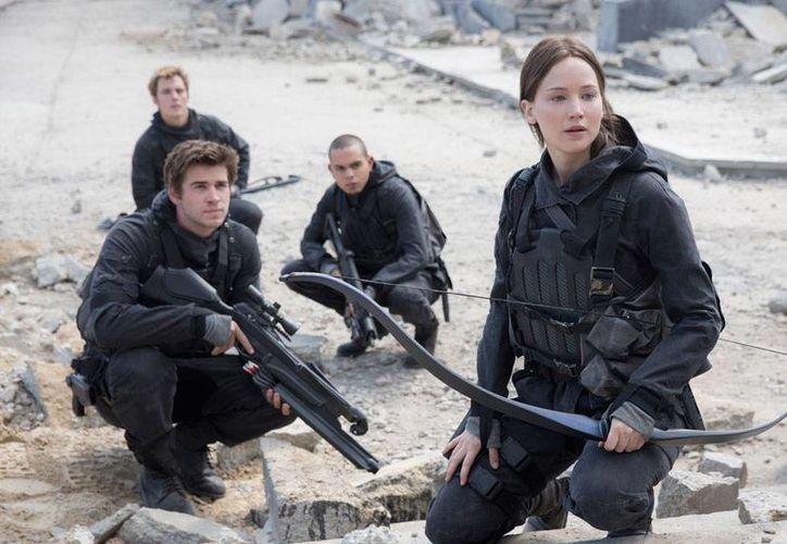 Escena de la película The Hunger Games que se llevó la taquilla en Estados Unidos. (AP/Archivo)