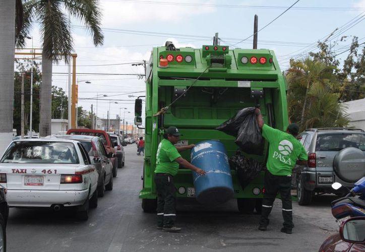 Se desconoce la cantidad exacta que se debe por recoja de basura. (Julián Miranda/SIPSE)