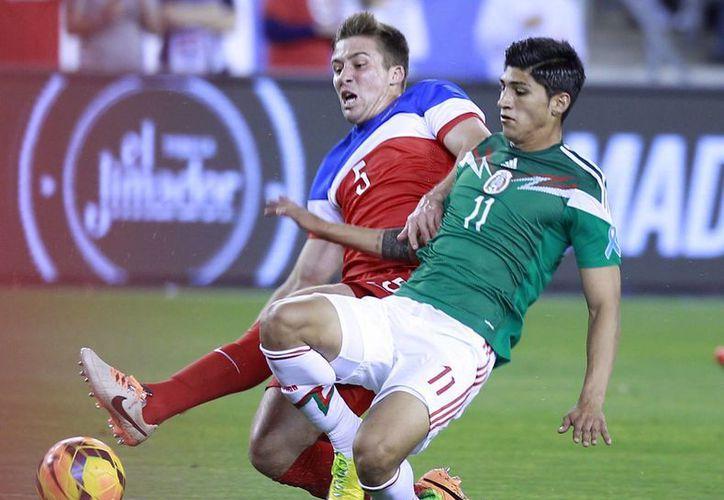 Gracias que no perdió ante EU, la Selección mexicana se ubicó en el lugar 19 del ranking de la FIFA. (Archivo Notimex)