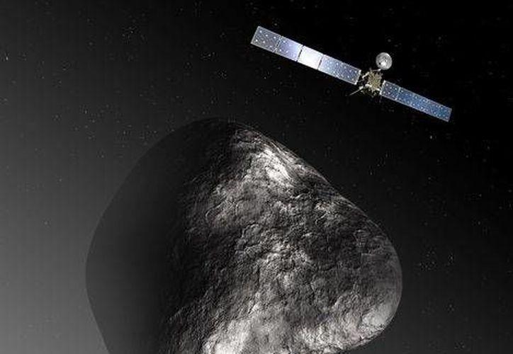 La sonda espacial Rosetta lanzará el robot Filae sobre el cometa 67P/Churyumov-Gerasimenko. (elexpresso.com)