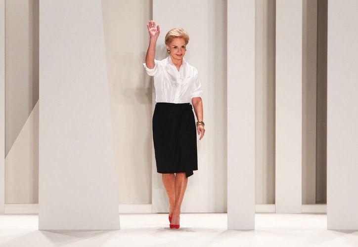 Carolina Herrera: la moda es una arduo trabajo que cobra altas facturas. (racked.com/Foto de archivo)