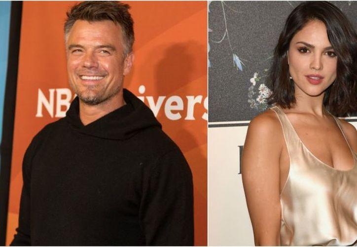 Josh y Eiza se estuvieron juntos después del concierto previo a Super Bowl, de Jennifer Lopez. (Foto: Entertainment Tonight)