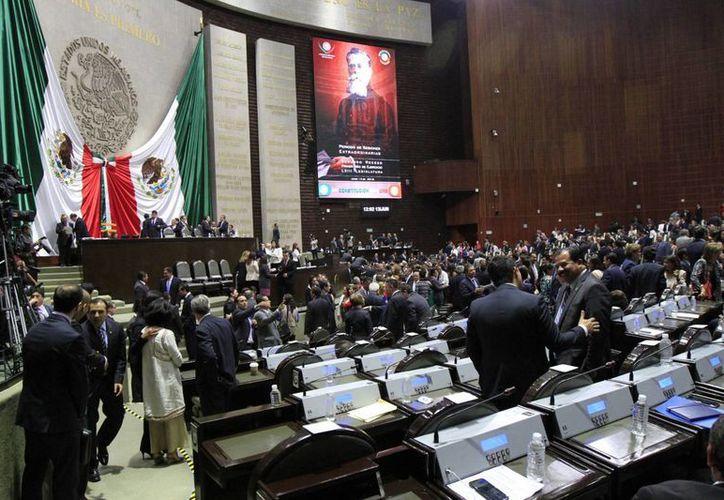 El proyecto de reformas a Ley Orgánica de la Administración Pública Federal fue aprobado por unanimidad. (Notimex)