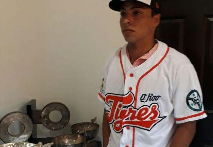 Rivero podría ser el primer pelotero quintanarroense en jugar con Tigres. (Foto: Redacción)