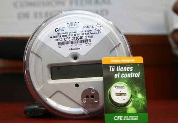 Nuevo programa de medidores electrónicos implementado por la CFE. (Redacción/SIPSE)