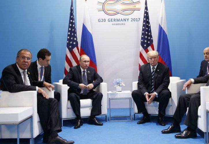 Se espera que la reunión de Trump y Putin tenga lugar antes de la cumbre de la OTAN prevista para el 11 de julio. (Internet)