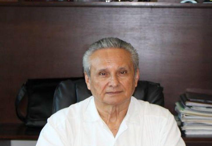 Víctor Alcérreca Sánchez, director del Consejo Quintanarroense de Ciencia y Tecnología (Coqcyt). (Israel Leal/SIPSE)