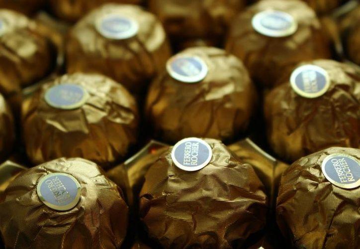 Las cinco toneladas de chocolates están valuadas en alrededor de un millón de pesos. (Foto: Contexto)