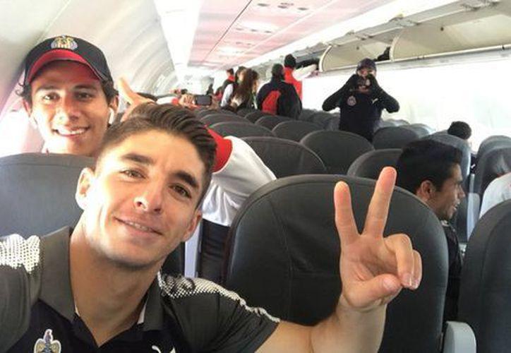 Chivas está por comenzar su participación en la Liga de Campeones.  (@brizuela27_cone)