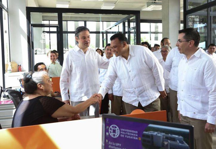 El gobernador Rolando Zapata estará este viernes en Izamal para oficializar enlaces matrimoniales. (Foto cortesía)