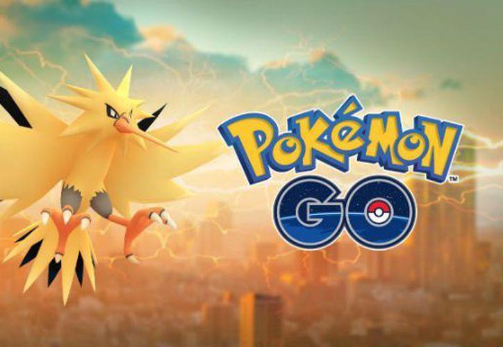 Puedes capturar a Zapdos, el pájaro eléctrico, en Pokémon GO desde el 7 de agosto hasta el próximo día 14. (Niactic).