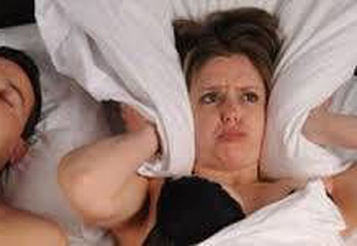 Los ronquidos son un molesto trastorno  que puede ocasionar problemas en la pareja. (Foto ilustrativa/SIPSE)