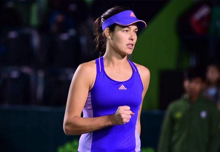 Ana Ivanovic, primera cabeza de serie y campeona defensora del Abierto de Monterrey, dio un paso más hacia el título. (periodicoabc.mx)