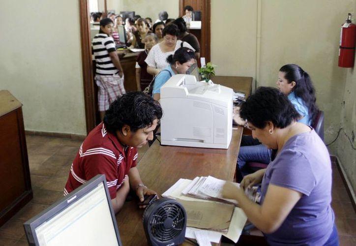 Instalaciones del Registro Civil en Mérida. (SIPSE)