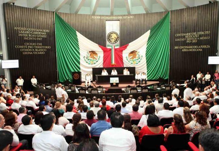 Miembros del Observatorio Legislativo de Quintana Roo proponen la desaparición de la Gran Comisión del Congreso de Q. Roo. (Archivo/SIPSE)