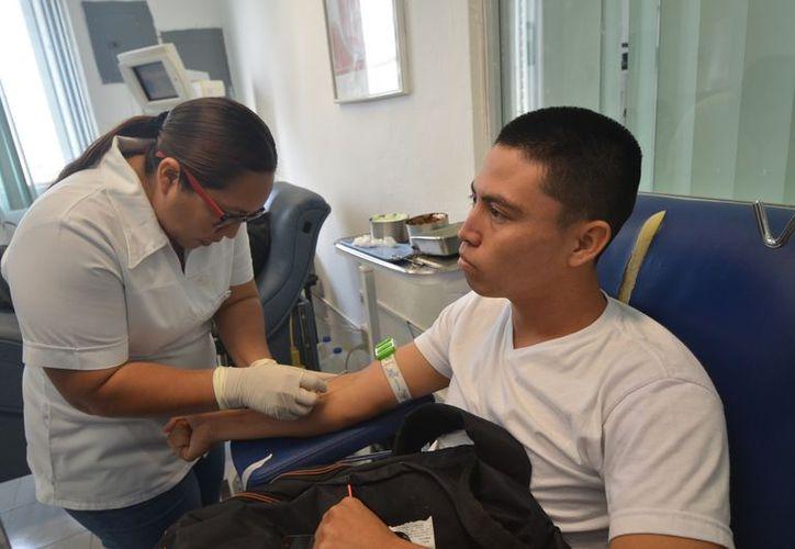 El 90% de los donadores, no son familiares de los pacientes y por el momento existe un abasto suficiente. (Joel Zamora/SIPSE)