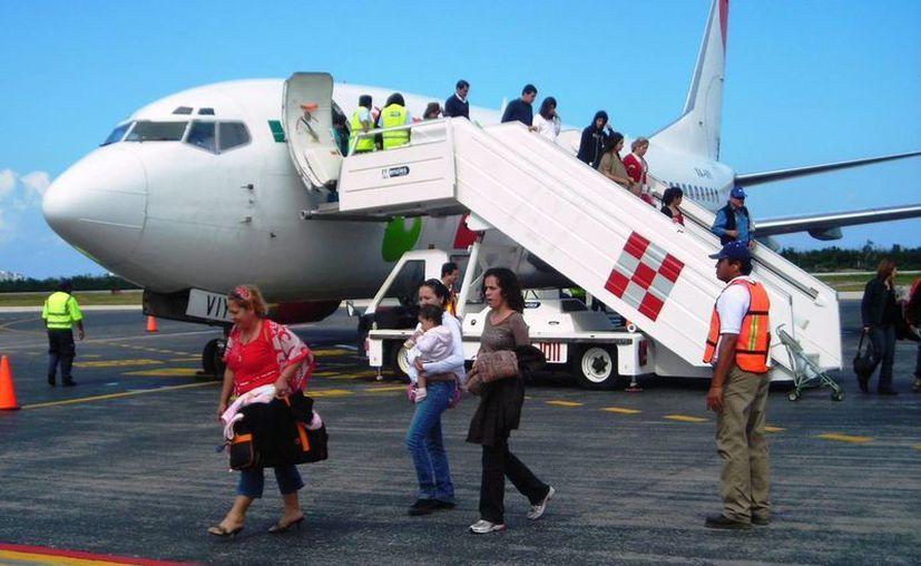 La crisis económica y los huracanes son los factores principales de la baja en turismo. (Gustavo Villegas/SIPSE)