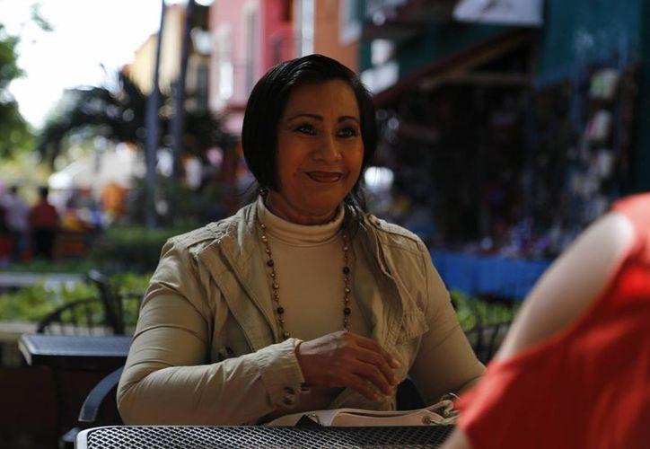 Norma del Carmen Arellano Pérez lleva más de 25 años de servicio en la educación. (Israel Leal/SIPSE)