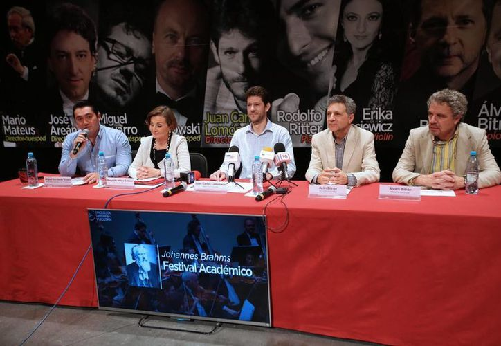 Este miércoles la OSY presentó su cuarto programa de temporada, el cual contará con la presencia de los hermanos Arón y Álvaro Bitrán, miembros del Cuarteto Latinoamericano. (Notimex)