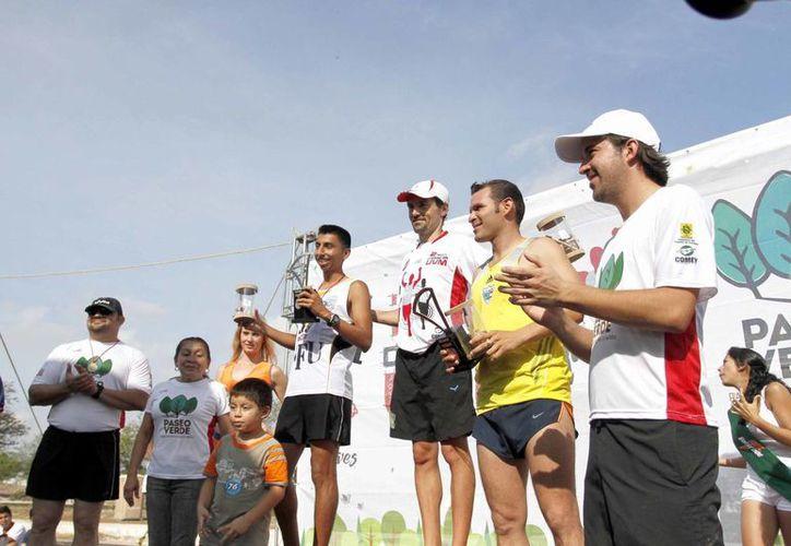 Premiación de la II Carrera de la UVM. En esta ocasión no sólo habrá una carrera de 10 kilómetros sino una caminata de 5 km. (Milenio Novedades)