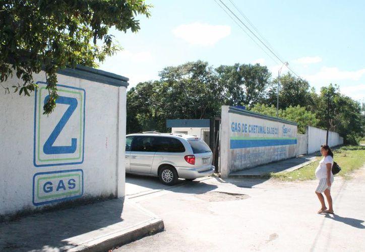 """Una empresa que ha sido denunciada constante es """"Z Gas"""", quien ya recibió una sanción, tras corroborar la veracidad de las denuncias. (Juan Palma/SIPSE)"""