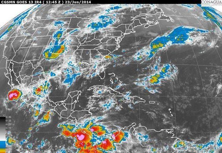 La Península de Yucatán mantendrá cielo medio nublado. (Redacción/SIPSE)