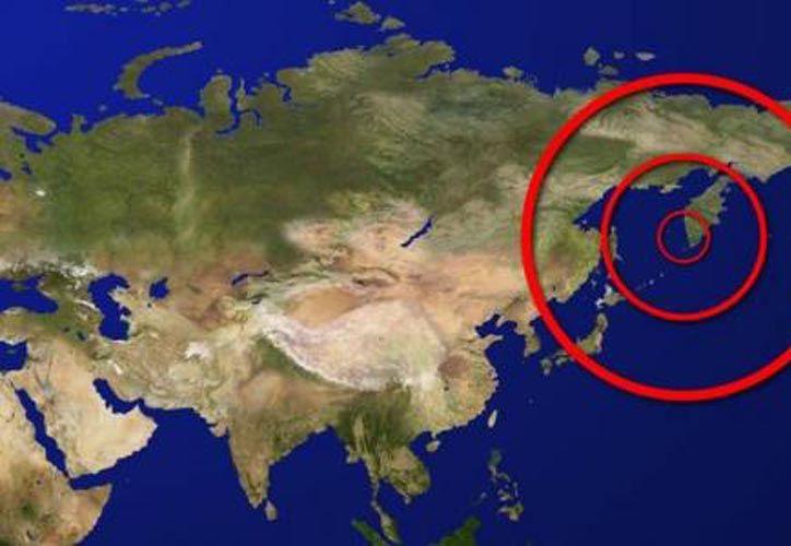El sismo tuvo una de magnitud 7,4 en la costa de la península de Kamchatka.  (Internet/Contexto)