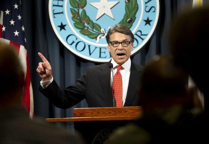 Rick Perry es el primer gobernador de Texas acusado penalmente en varias décadas. (AP)