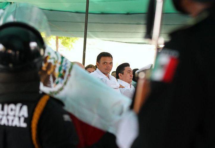El gobernador Rolando Zapata Bello elogió la nueva política sobre turismo. (SIPSE)
