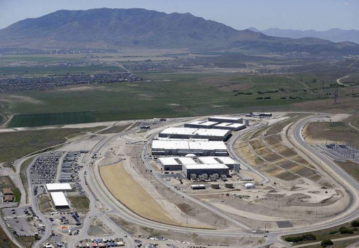 vista aérea del Centro de Datos de Utah, de la Agencia de Seguridad Nacional, en Bluffdale, Utah. (Agencias)