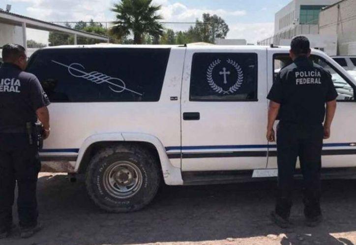 La unidad fue asegurada en Hidalgo, por elementos de la Policía Federal. (excelsior.com)