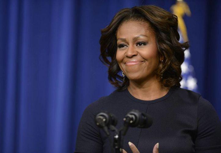 Michelle Obama llega a sus 50 años en buena forma y relajada. (EFE/Archivo)