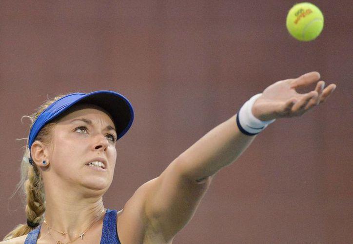 La alemana Sabine Lisicki logró posicionarse en el 24 de la clasificación mundial de tenis femenil. (EFE)