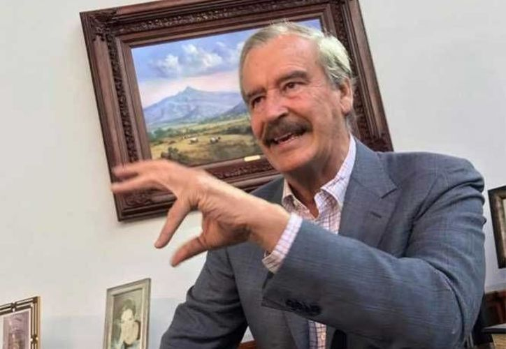 El ex presidente Vicente Fox opinó que  los legisladores mexicanos deberían de tomar posturas firmes en defensa de la soberanía del país, con relación a la política de EU. (Foto: www.exclesior.com.mx)