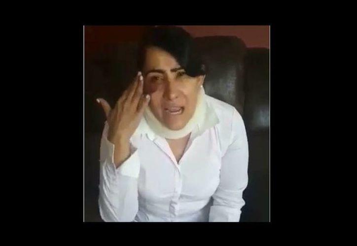 El pasado martes 7 de junio Rosa Margarita Ortiz Macías abordó un autobús de la línea ETN, en el cual fue atacada. (Captura de pantalla)
