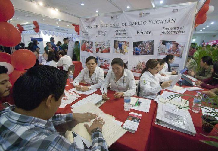 Imagen de la Feria del Empleo para Jóvenes en Mérida, Yucatán. (Archivo/Notimex)