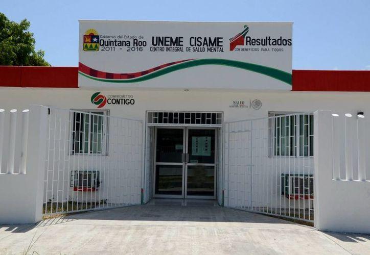 La Unidad Médico Especializada y Centro integral de Salud Mental (Uneme Cisame) brindan consultas gratuitas en Cancún y Chetumal. (Cortesía)