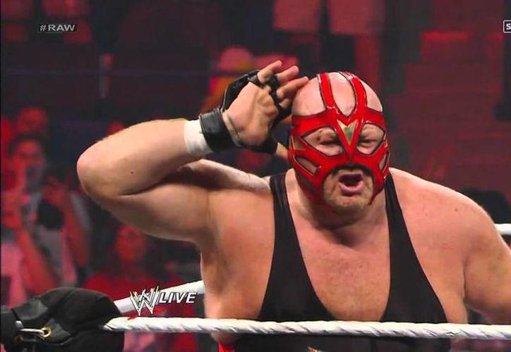 Vader se caracterizaba por usar sobre el cuadrilátero una camiseta roja y negra, y una máscara de tiras. (Foto: Contexto)