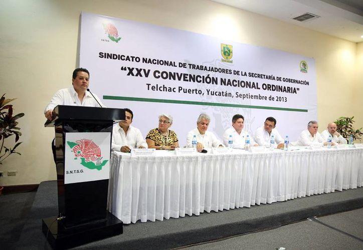 En la Convención Nacional, el SNTSG renovará su dirigencia para los próximos seis años. (Cortesía)