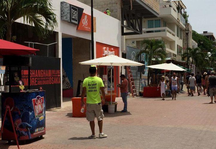 """También estará regularizando el tema de jaladores """"que hostigan al turismo"""". (Adrián Barreto/ SIPSE)"""