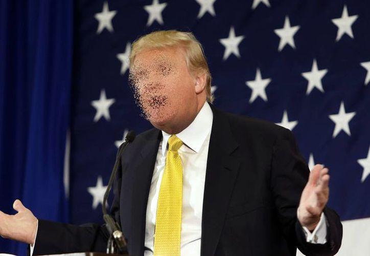 Con esta aplicación podrás 'borrar' a Donald Trump de tu internet. (Archivo/ AP)