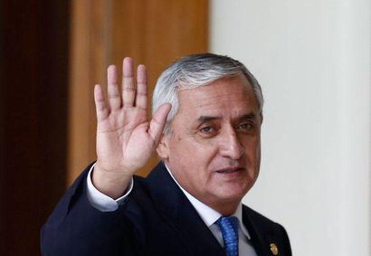 Otto Pérez Molina presentó al Congreso de Guatemala su renuncia como presidente del país. Se someterá a la justicia, por acusaciones de corrupción. (AP)
