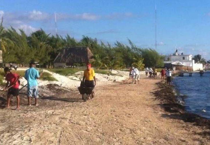 La primera etapa, que está por finalizar, fue en la zona de las playas. (Redacción/SIPSE)
