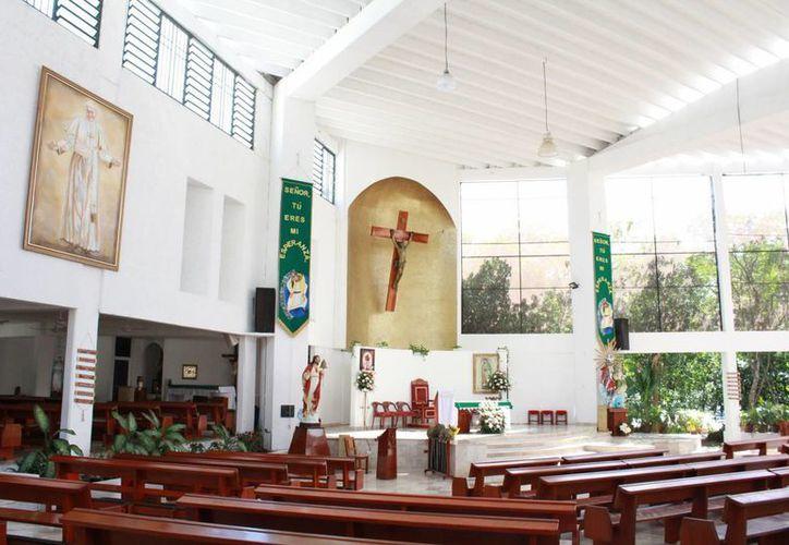El lugar de entrega será la catedral Santísima Trinidad de Cancún. (Luis Soto/SIPSE)