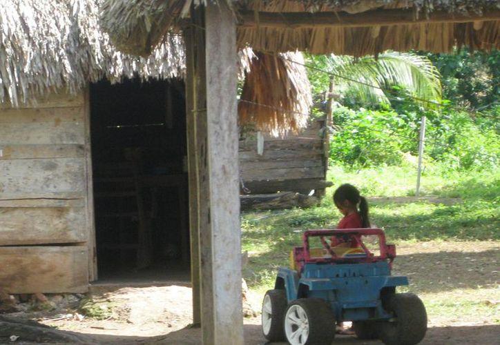 Las costumbres en zonas rurales evitan muchas veces que los casos de abuso en menores sean denunciados a tiempo.  (Javier Ortiz/SIPSE)
