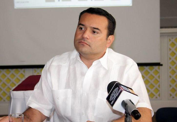 Renán Barrera Concha, alcalde de Mérida, quiere repetir con una curul en el Congreso de Yucatán. (SIPSE)