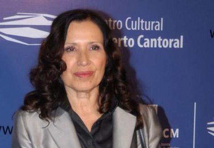María Rojo habría rechazado la obra a cambio de sumarse a un proyecto de Televisa. (SIPSE/Archivo)
