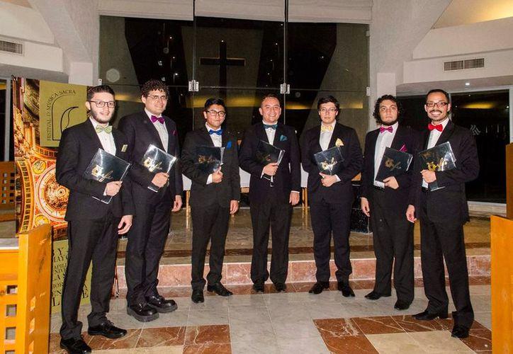 El día de ayer se llevó a cabo el primer y segundo concierto del Festival de Música Sacra. (Alejandra Flores/SIPSE)