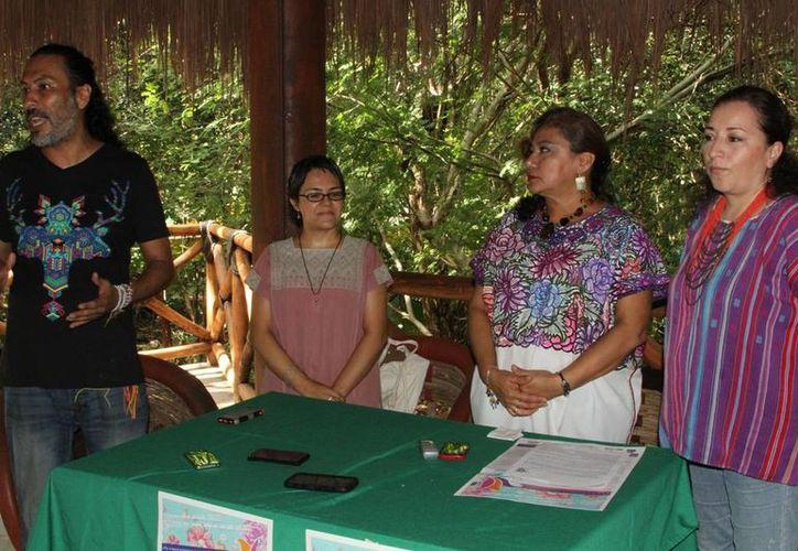 El primer Encuentro Mujer Medicina de actividades holísticas en Playa del Carmen. (Adrián Barreto/SIPSE)